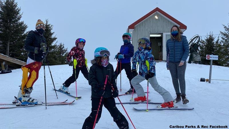 Caribou High School Ski Area, Maine