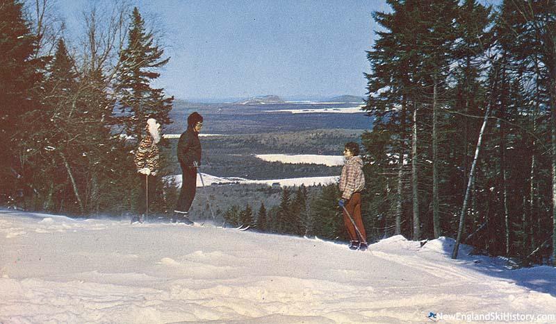 Big Squaw Mountain History Maine Newenglandskihistory Com