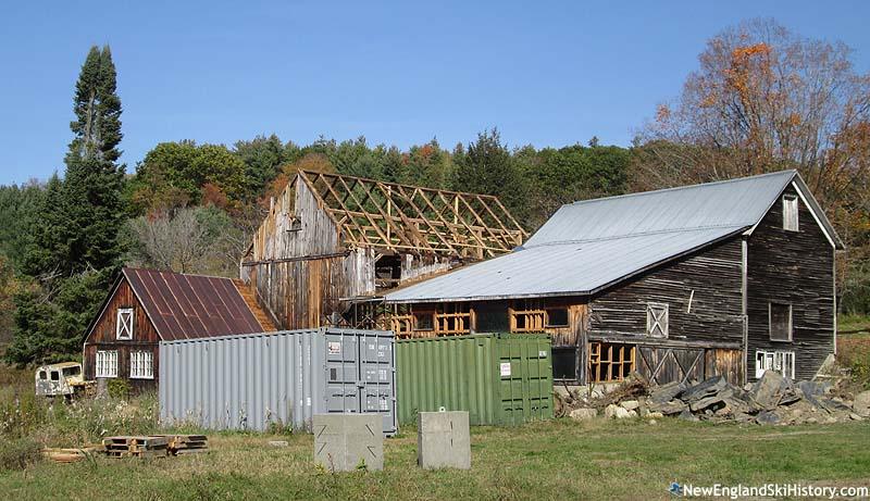 High Pond Ski Area History Vermont