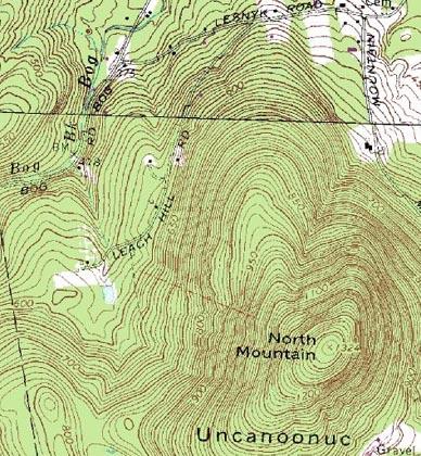 Mt  Uncanoonuc, New Hampshire - New England's Cancelled Ski