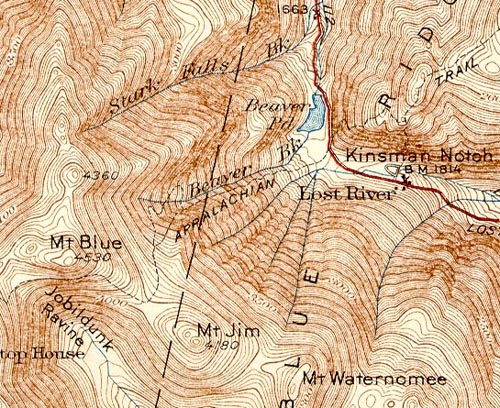 Topographic Map Of New England.Waternomee Glen Ski Area New Hampshire New England S Cancelled