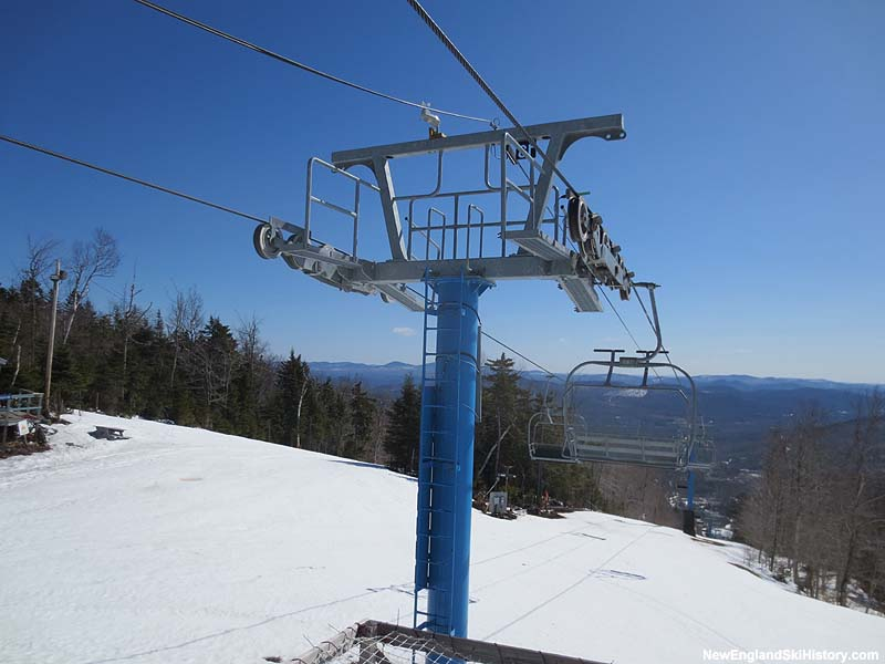 The Summit Triple Chair in 2013