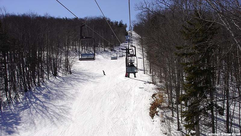 The chairlift circa the 2000s
