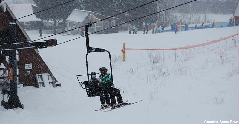 The chairlift in 2010