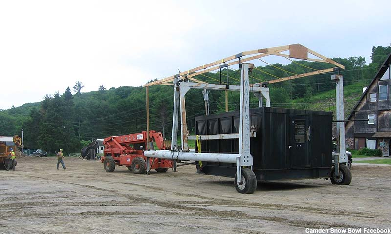 Moving the drive terminal circa July 2014