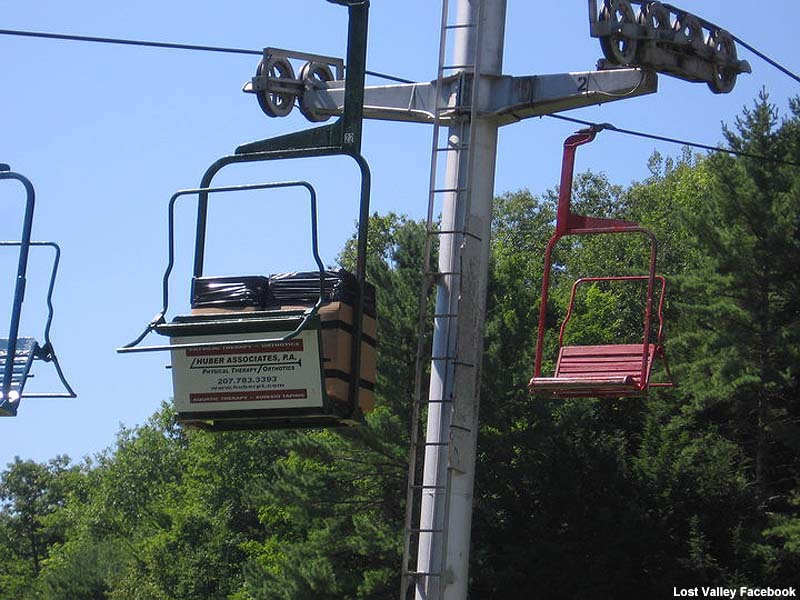 Load testing Chair 1 in 2010