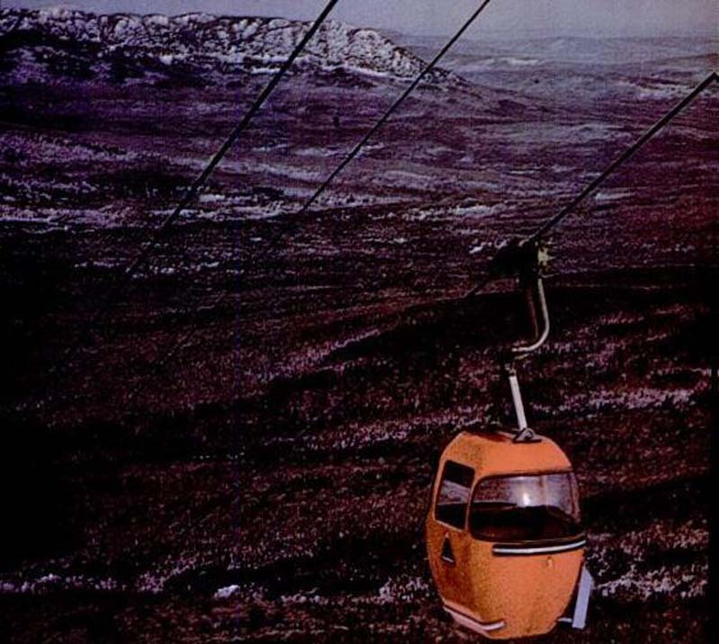 The gondola circa the late 1960s