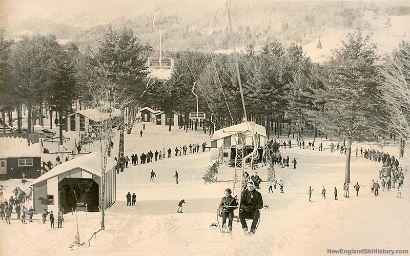 Competition T-Bar in the 1960s