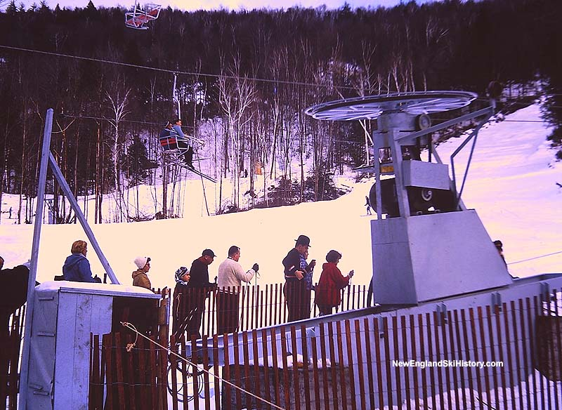 The Competition T-Bar in 1962