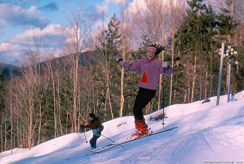 Competition T-Bar in the 1980s