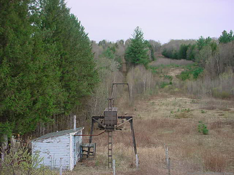 The West T-Bar in 2002