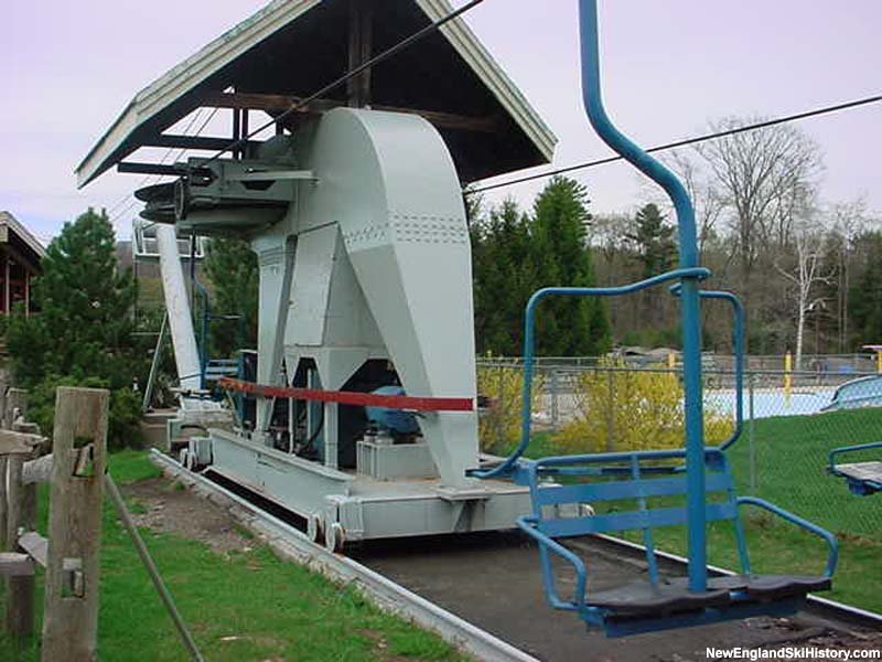 Blue Double drive terminal in 2002