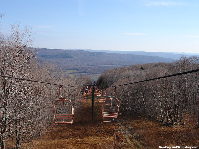 The top of Dot's Lift in 2005
