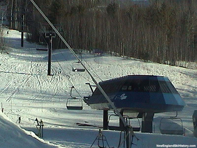 The Flying Bear Express Quad in 2003