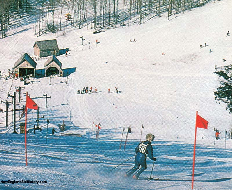 The Bungy T-Bar (background) circa the 1970s
