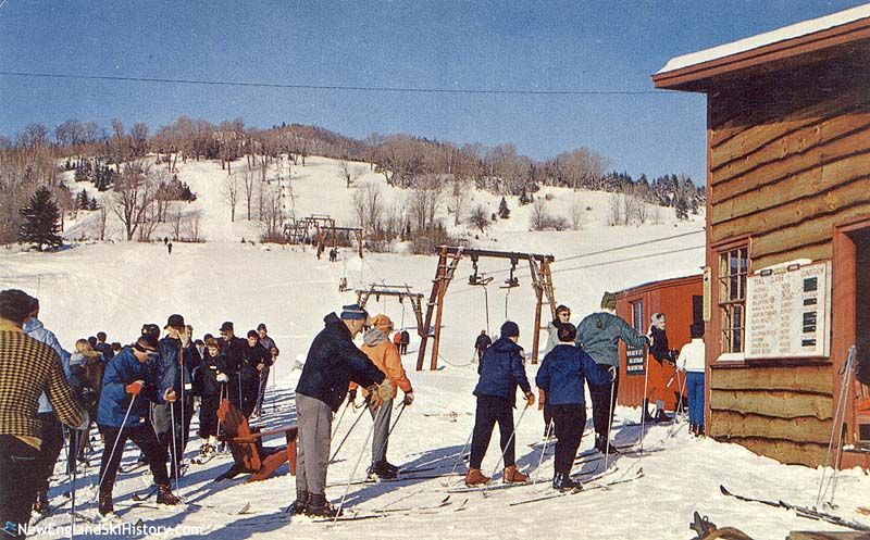 The Knoll T-Bar circa the 1950s