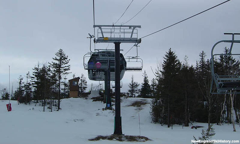The West Mountain Express Quad in 2004