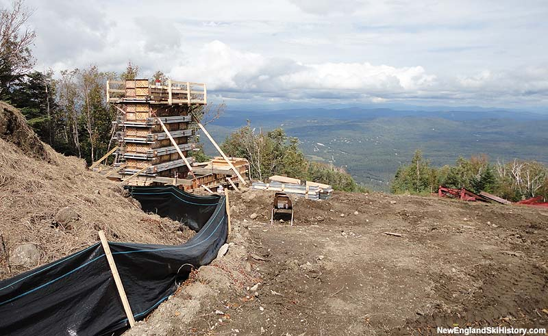 Mittersill Double Chairlift installation in September 2010
