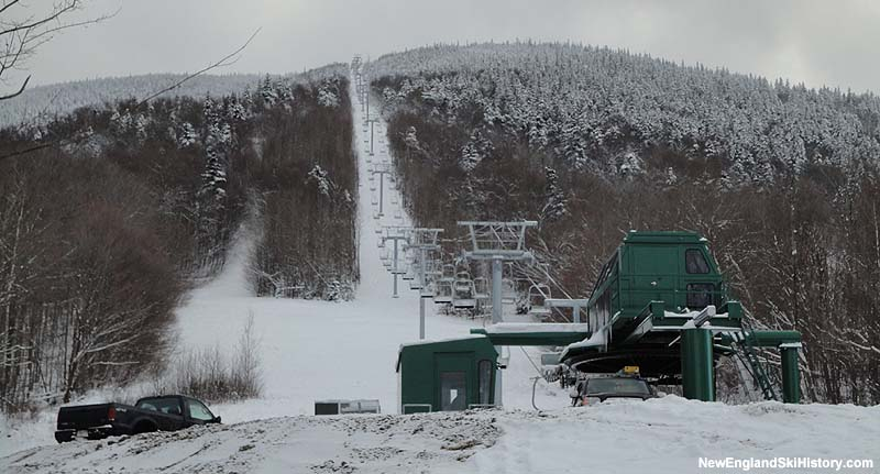 Mittersill Double Chairlift in December 2010