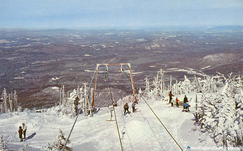 The Upper T-Bar circa the early 1960s