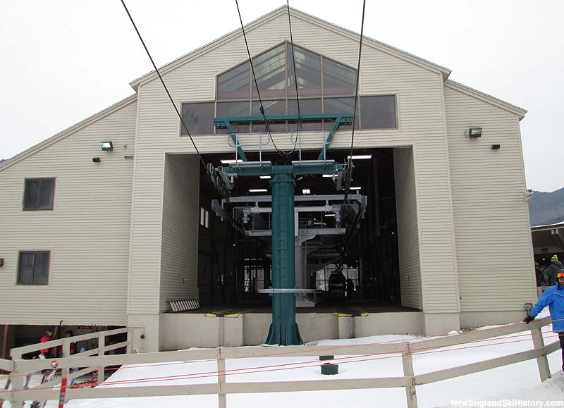 The Loon Gondola bottom terminal in 2013