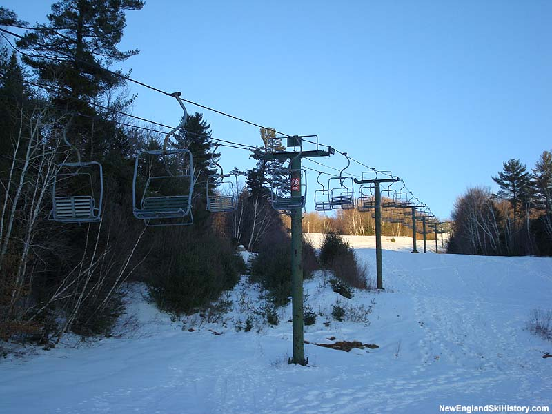 The Snows Mountain Double Chair in 2007