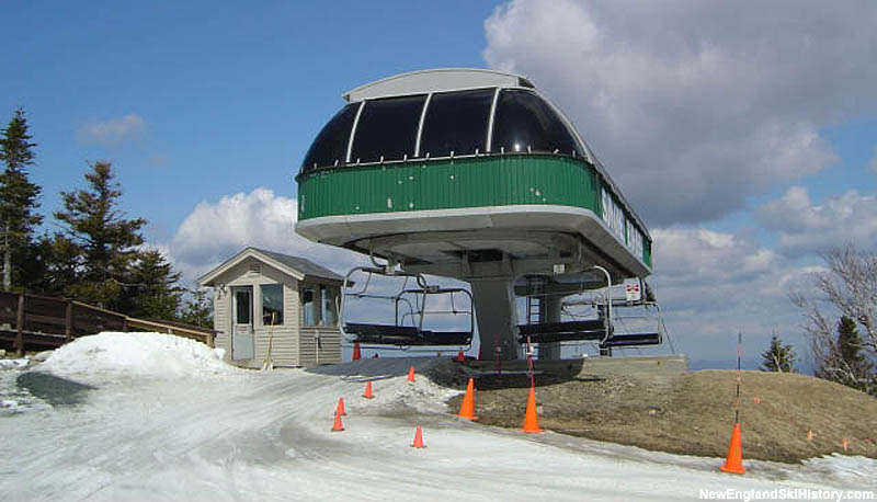 The Sunapee Express Quad in 2004