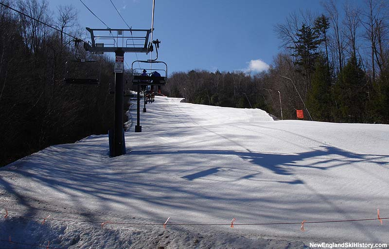 The Sunapee Express Quad in 2006
