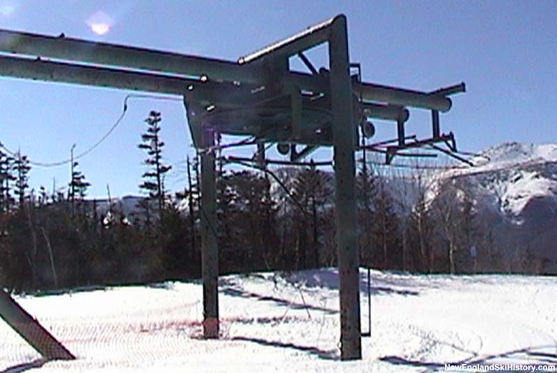 The remains of the Lynx Double top terminal in 2003