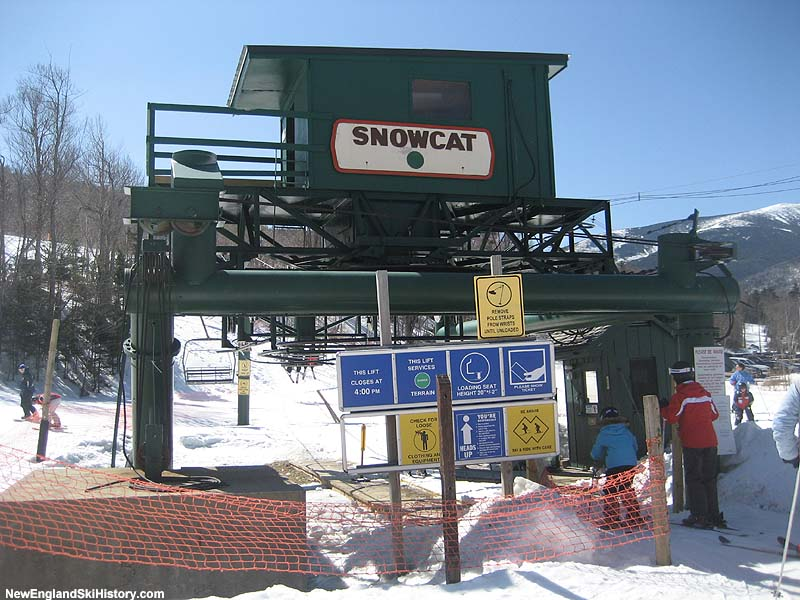 The Snowcat Triple in 2009
