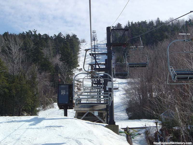 Snowdance Triple midstation in 2004