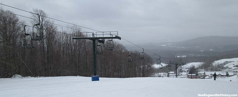 The East Meadow Chairlift in 2014