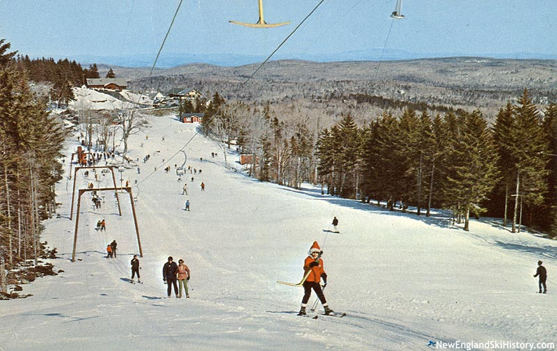 The Alpenglo T-Bar circa the 1960s