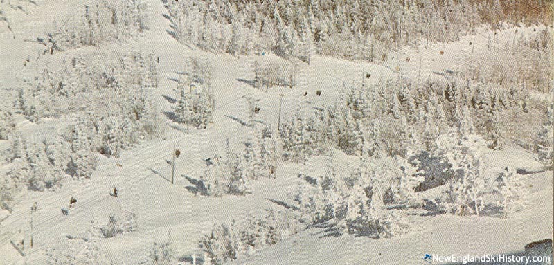 The upper lift line circa the late 1960s or 1970s
