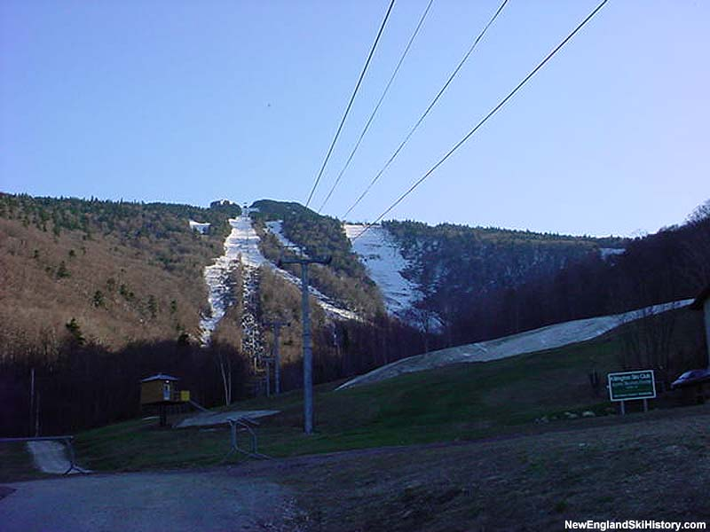 The K1 Gondola in 2002