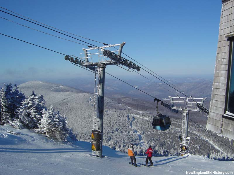 The K1 Gondola in 2005