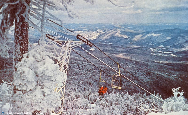 The Killington Chairlift circa the 1960s