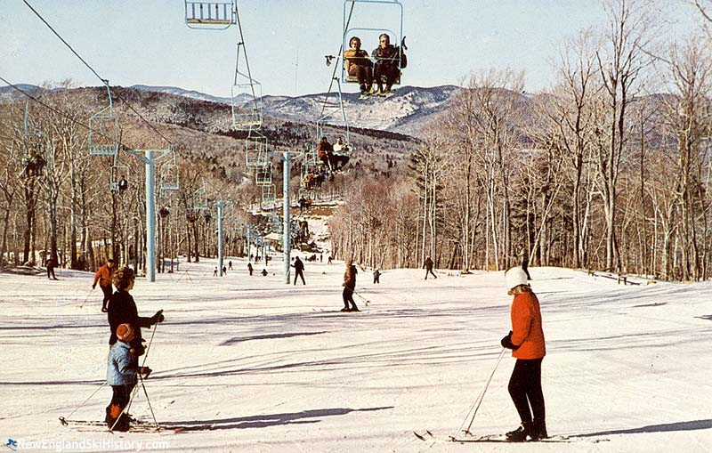 The Snowshed Doubles circa the mid 1960s