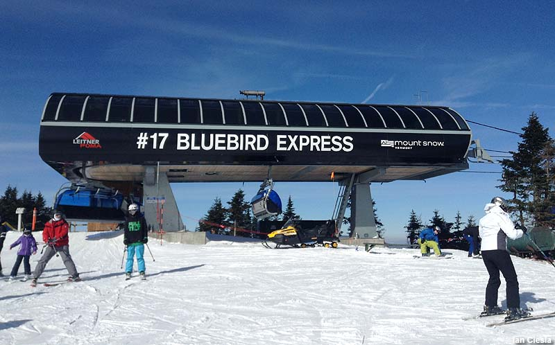 The Bluebird Express top terminal in 2014
