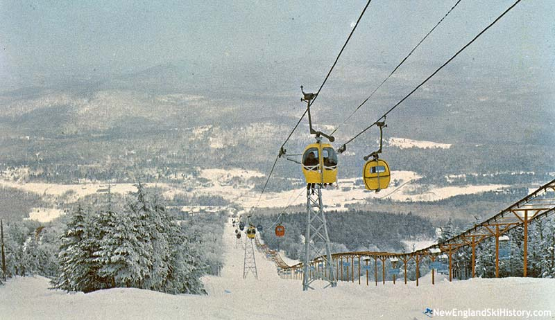 The South Bowl Lift (right) circa the 1960s