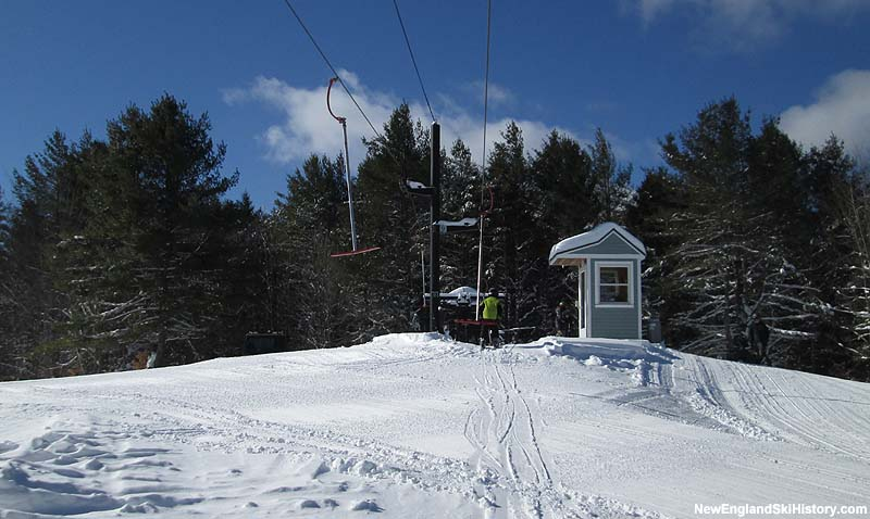 The top of the T-Bar in 2014
