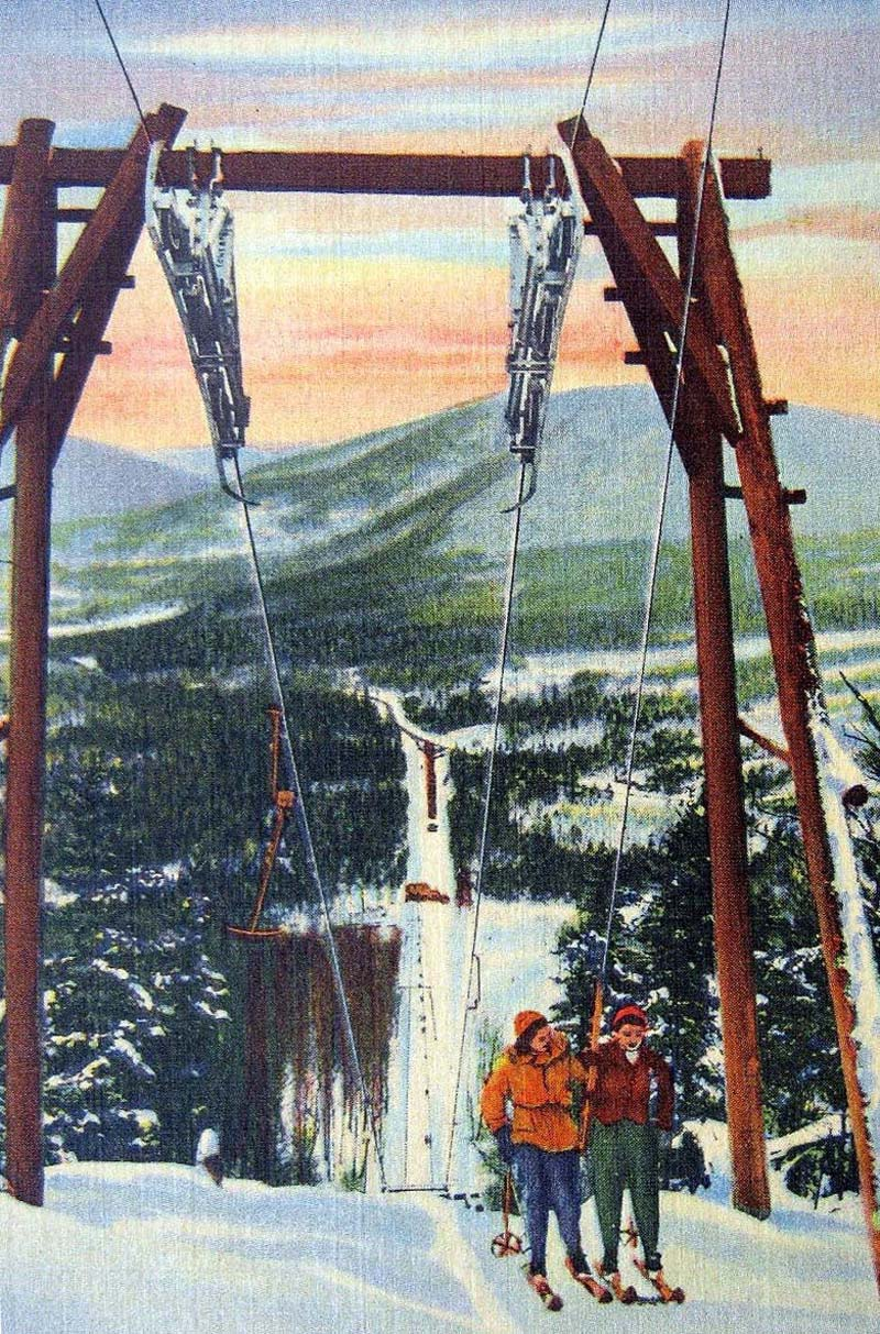 The rendering of the Pico T-Bar circa the 1940s