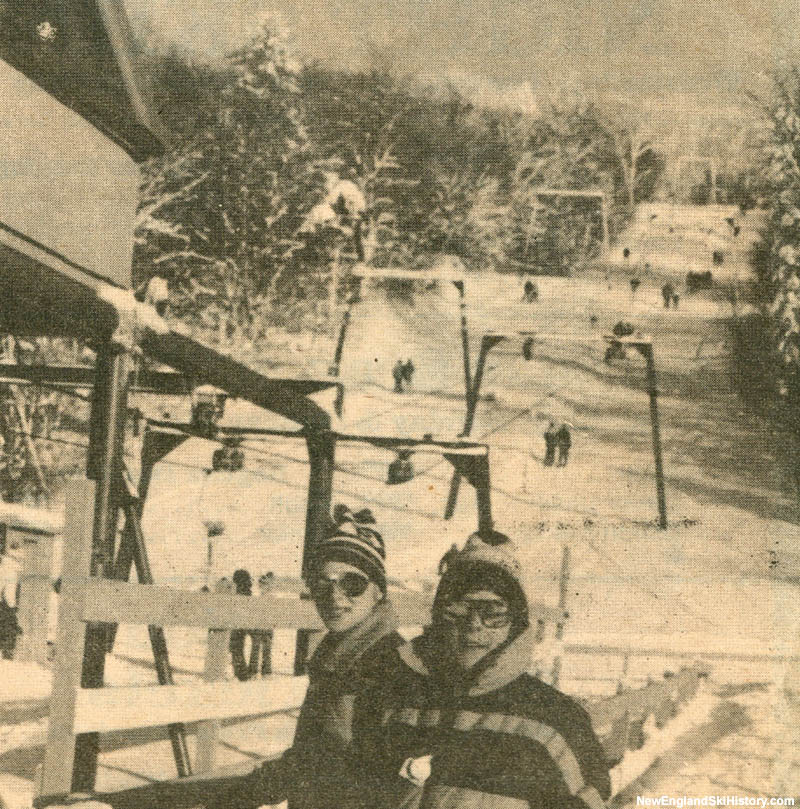 The Prospect Mountain T-Bars in the 1970s
