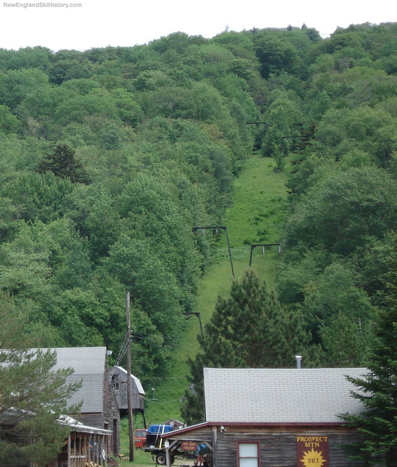 The Prospect Mountain T-Bars in 2006