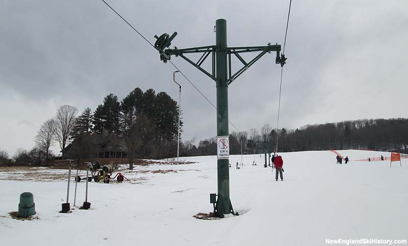 The Quechee T-Bar in 2014