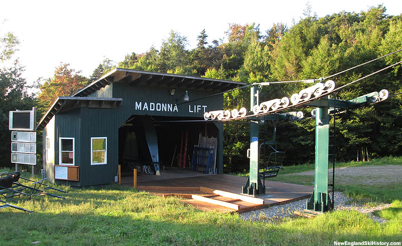 The Madonna Double bottom terminal (2014)