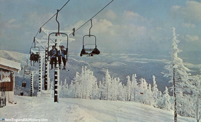 The Mt. Mansfield Double circa the 1960s