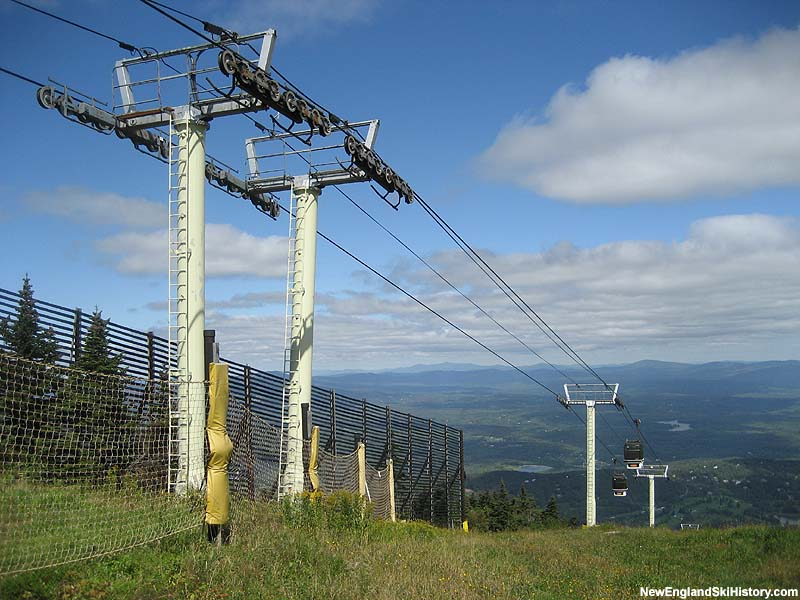 The top of the Stratton gondola in 2006