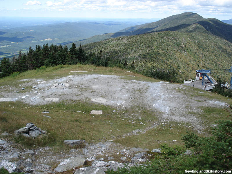 The footings from the Sugarbush Gondola in 2006