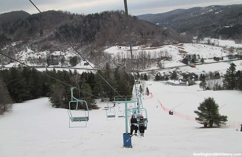 The 2,000 Foot Double Chair in 2014